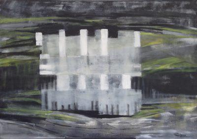 Transparantie, is het een droom – acryl op canvas – 80 x 100 cm