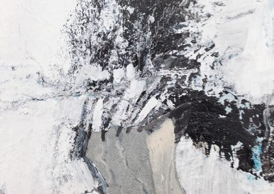 Zonder titel 2 – acryl op canvas – 14 x 14 cm