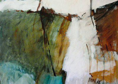 Landschappelijke 1 – acryl op canvas – 70 x 100 cm