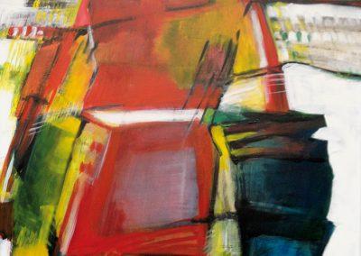 Polderlandschap 1 – acryl op canvas – 60 x 80 cm