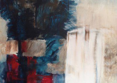 Tegenwicht 2 – acryl op canvas – 60 x 70 cm