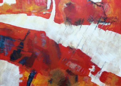 Energie - acryl op canvas - 70 x 90 cm