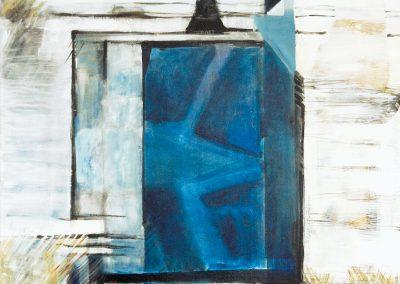 Eindeloze diepte – acryl op canvas – 60 x 60 cm