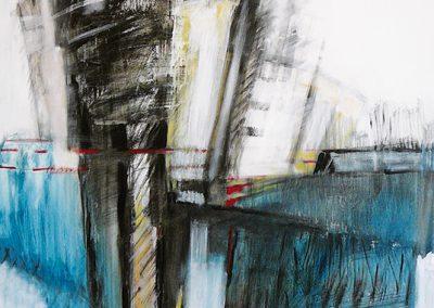 Sta voor je mening – acryl op canvas – 100 x 140 cm