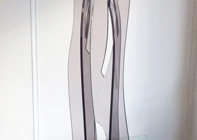 Groei - plexiglas - serie Groei