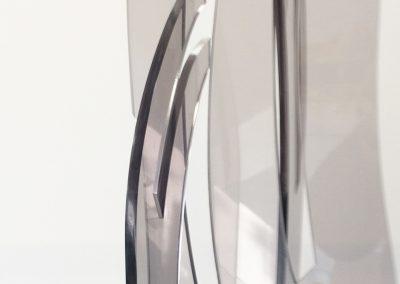 Detail van Groei - plexiglas - serie GroeiDetail van Groei - plexiglas