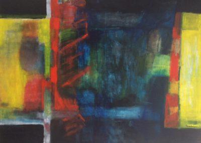 Diepte – acryl op doek – 60 x 80 cm